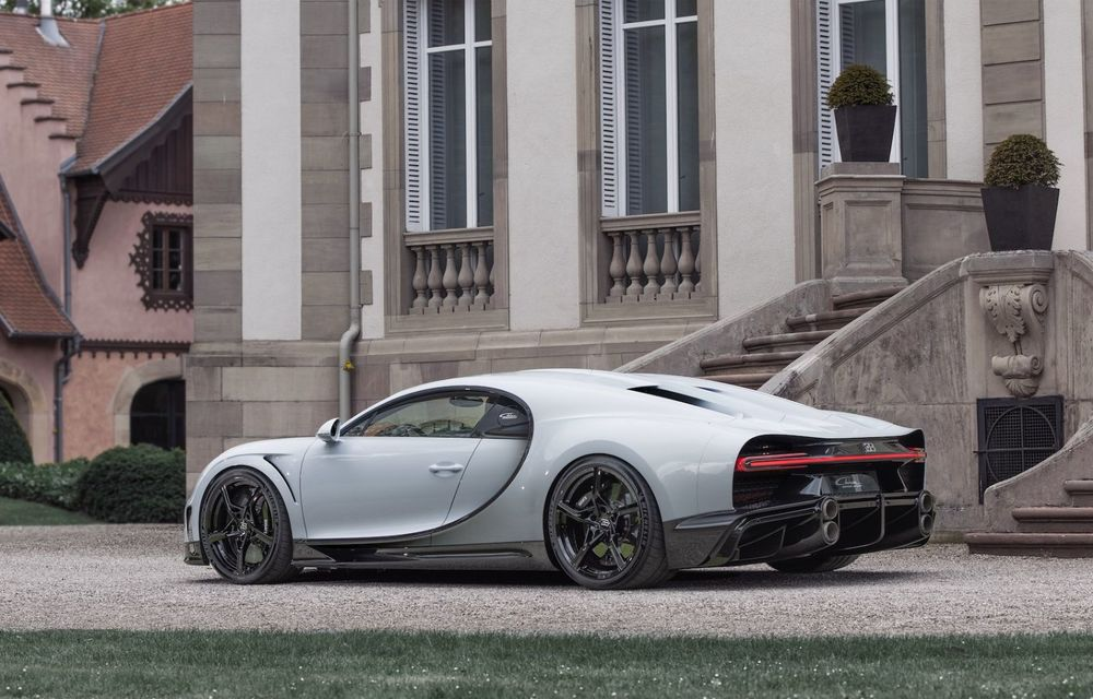 Bugatti Chiron Super Sport: producție limitată la 9 exemplare și 3.2 milioane de euro preț de pornire - Poza 15
