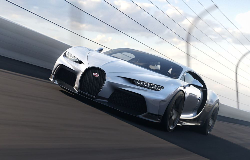 Bugatti Chiron Super Sport: producție limitată la 9 exemplare și 3.2 milioane de euro preț de pornire - Poza 9