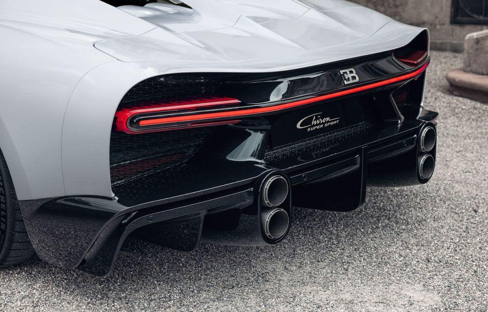 Bugatti Chiron Super Sport: producție limitată la 9 exemplare și 3.2 milioane de euro preț de pornire - Poza 18
