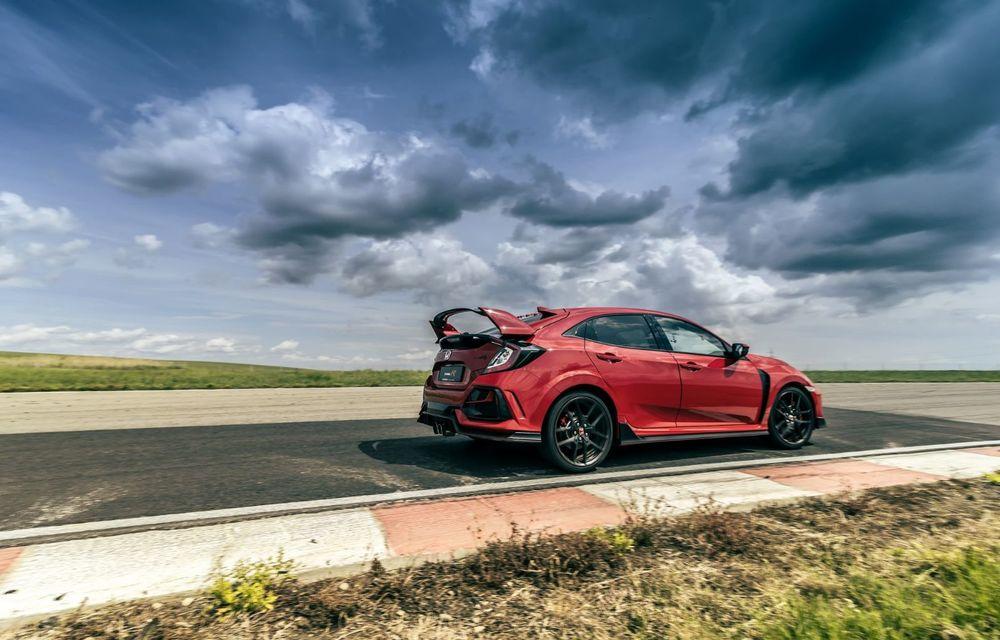 Honda Civic Type R Ultimate Edition stabilește un record de timp pe circuitul MotorPark din Adâncata - Poza 5