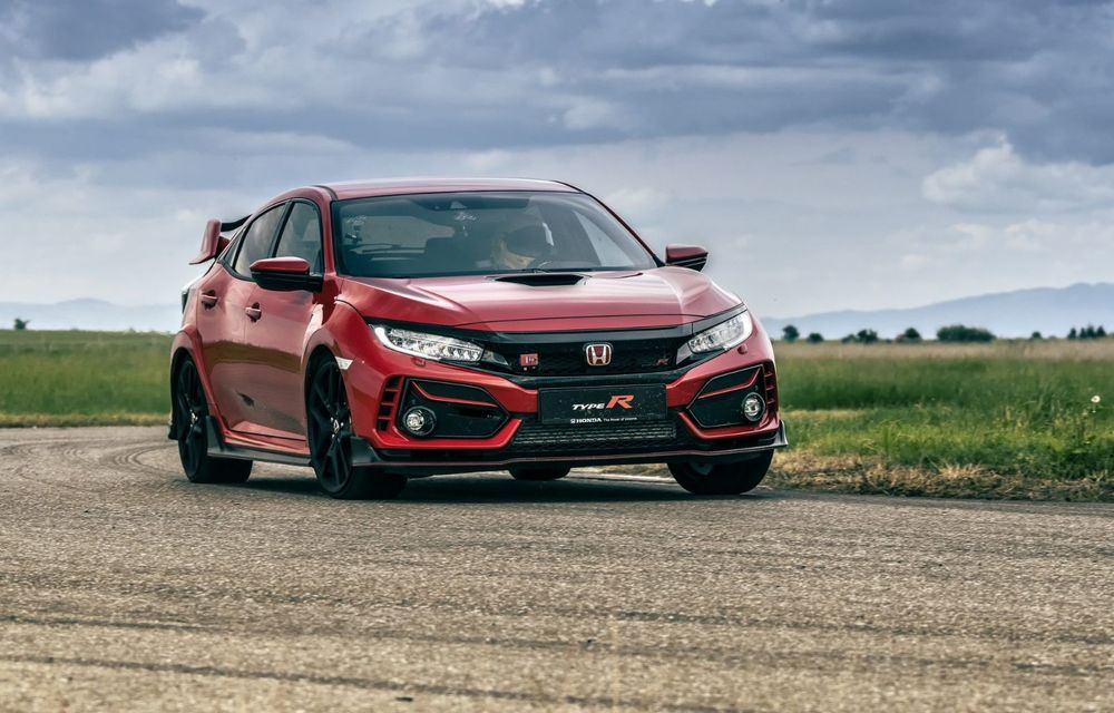 Honda Civic Type R Ultimate Edition stabilește un record de timp pe circuitul MotorPark din Adâncata - Poza 2