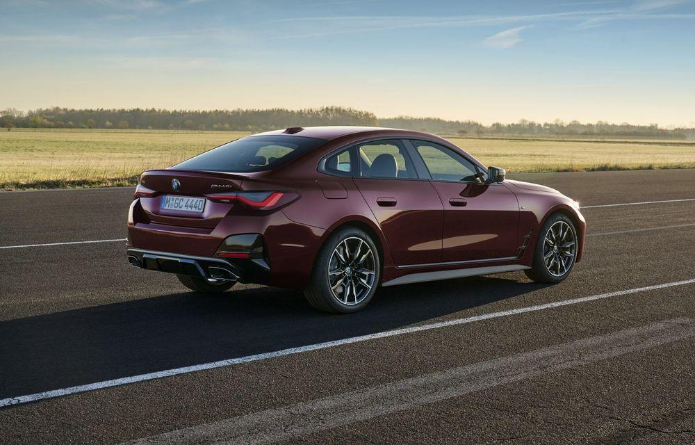 Noul BMW Seria 4 Gran Coupe: ținută de drum îmbunătățită și mai mult spațiu decât înainte - Poza 5
