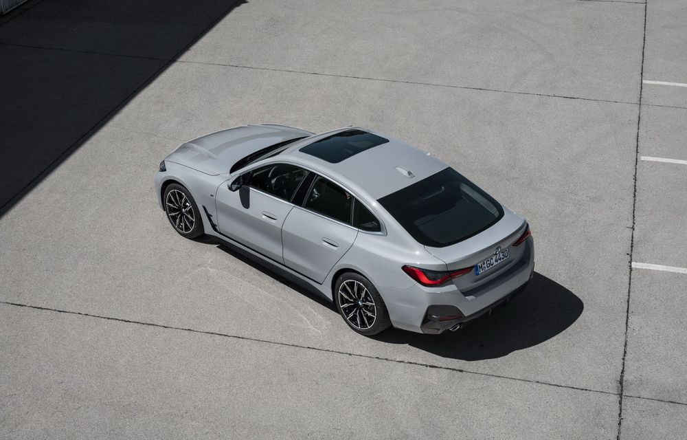 Noul BMW Seria 4 Gran Coupe: ținută de drum îmbunătățită și mai mult spațiu decât înainte - Poza 17