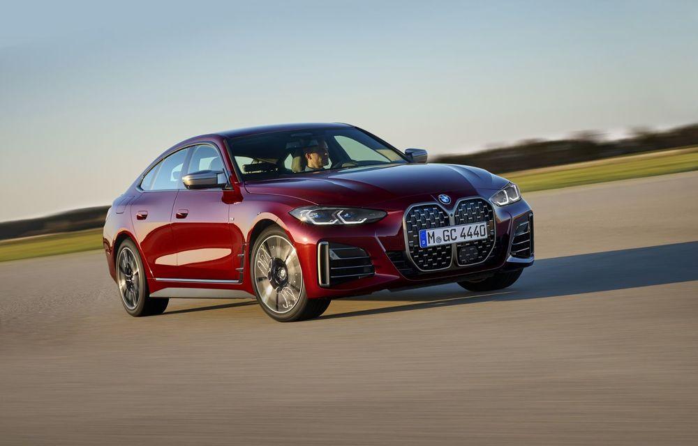 Noul BMW Seria 4 Gran Coupe: ținută de drum îmbunătățită și mai mult spațiu decât înainte - Poza 2