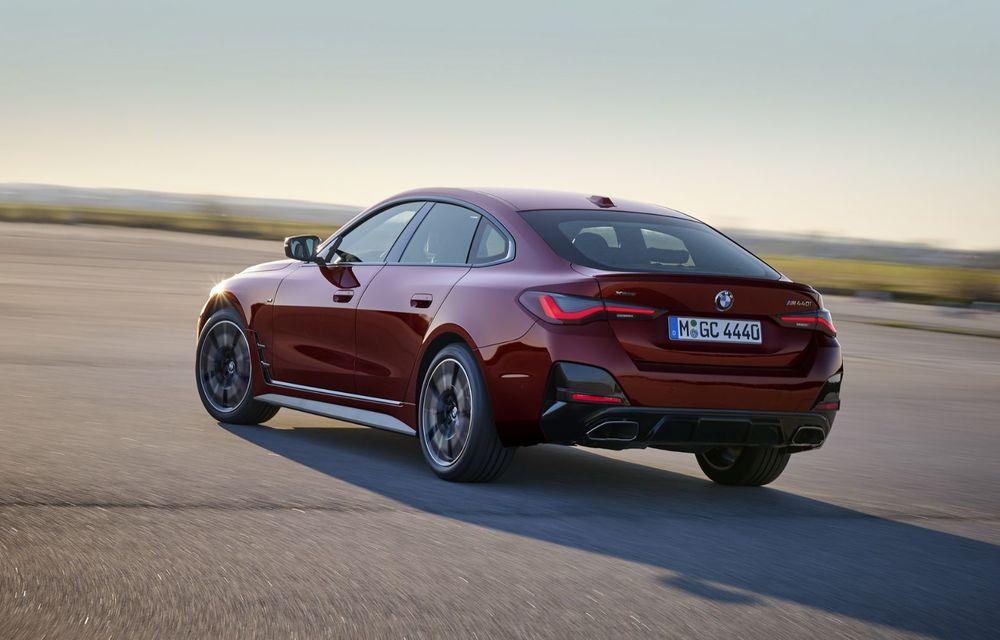 Noul BMW Seria 4 Gran Coupe: ținută de drum îmbunătățită și mai mult spațiu decât înainte - Poza 3