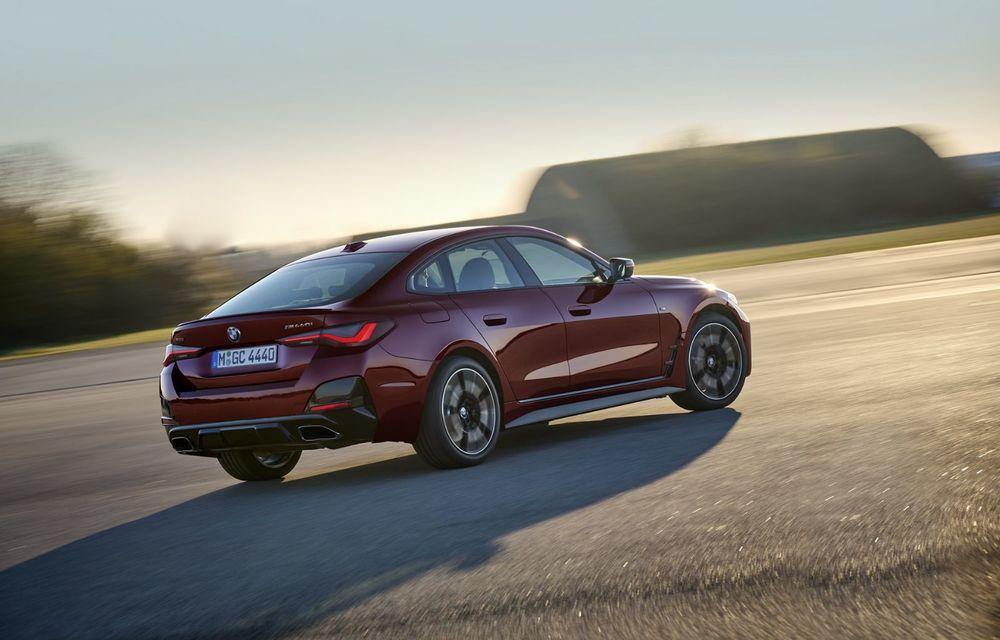 Noul BMW Seria 4 Gran Coupe: ținută de drum îmbunătățită și mai mult spațiu decât înainte - Poza 4