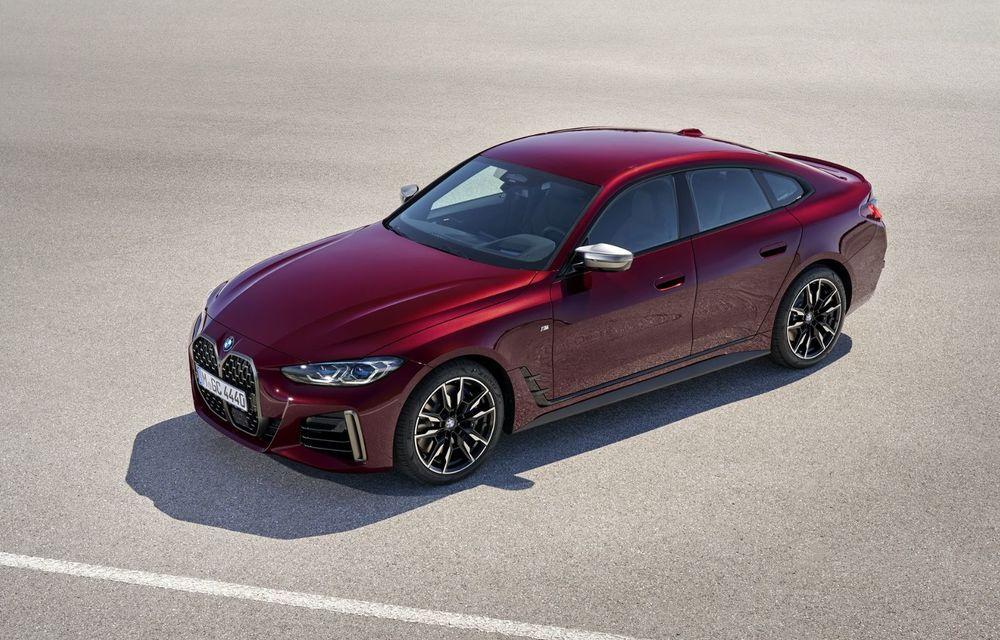 Noul BMW Seria 4 Gran Coupe: ținută de drum îmbunătățită și mai mult spațiu decât înainte - Poza 6