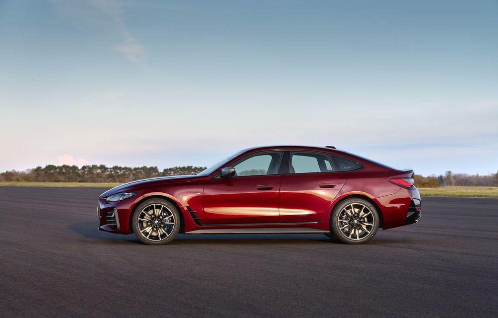 Noul BMW Seria 4 Gran Coupe: ținută de drum îmbunătățită și mai mult spațiu decât înainte - Poza 8