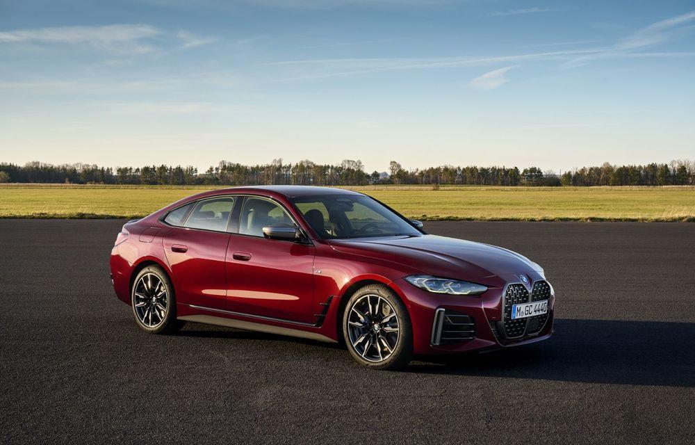 Noul BMW Seria 4 Gran Coupe: ținută de drum îmbunătățită și mai mult spațiu decât înainte - Poza 9
