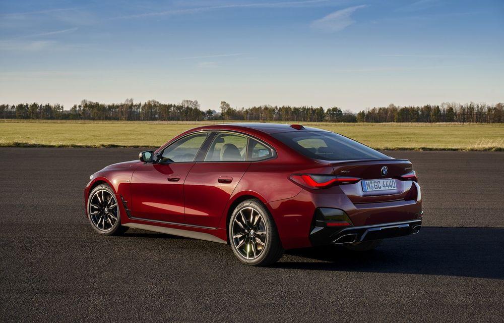 Noul BMW Seria 4 Gran Coupe: ținută de drum îmbunătățită și mai mult spațiu decât înainte - Poza 10
