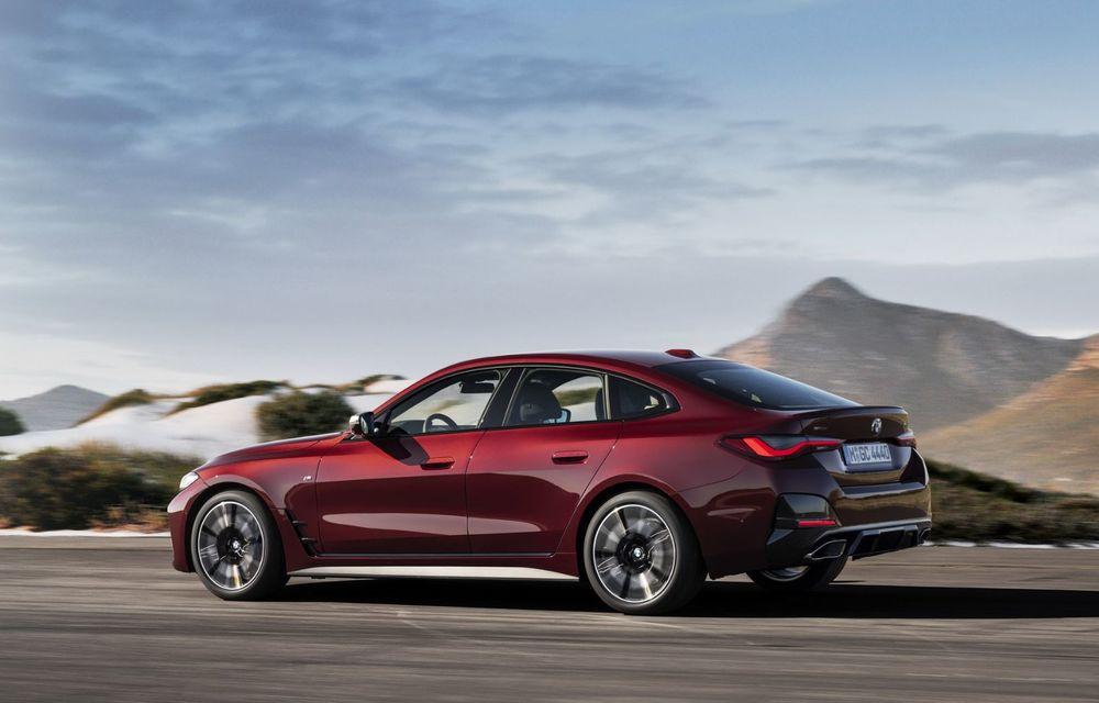 Noul BMW Seria 4 Gran Coupe: ținută de drum îmbunătățită și mai mult spațiu decât înainte - Poza 11