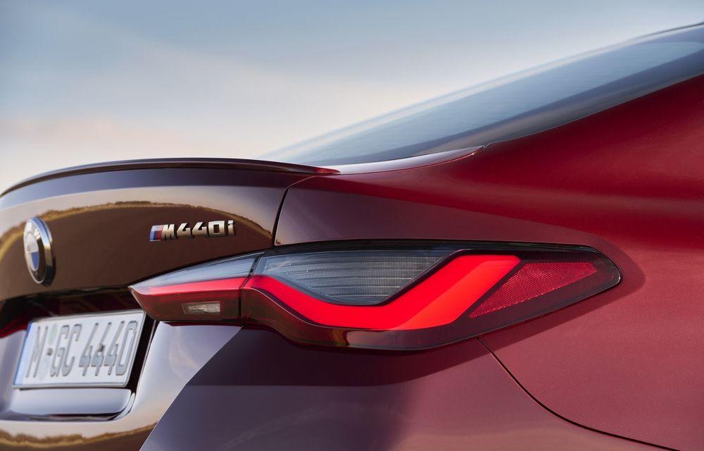 Noul BMW Seria 4 Gran Coupe: ținută de drum îmbunătățită și mai mult spațiu decât înainte - Poza 12