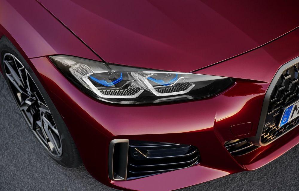 Noul BMW Seria 4 Gran Coupe: ținută de drum îmbunătățită și mai mult spațiu decât înainte - Poza 13