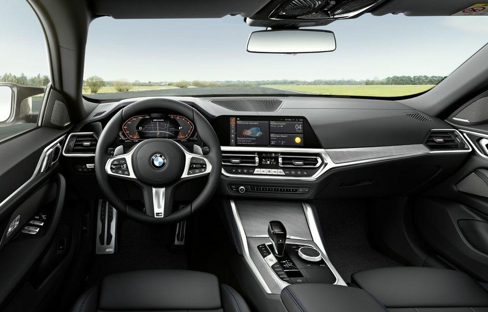 Noul BMW Seria 4 Gran Coupe: ținută de drum îmbunătățită și mai mult spațiu decât înainte - Poza 21