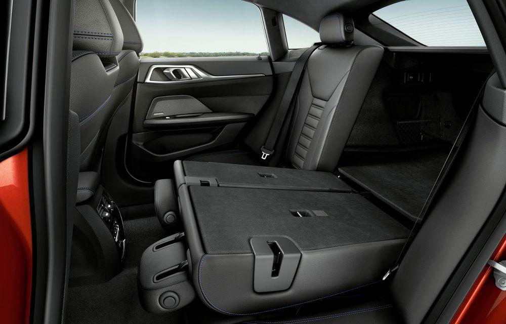 Noul BMW Seria 4 Gran Coupe: ținută de drum îmbunătățită și mai mult spațiu decât înainte - Poza 25