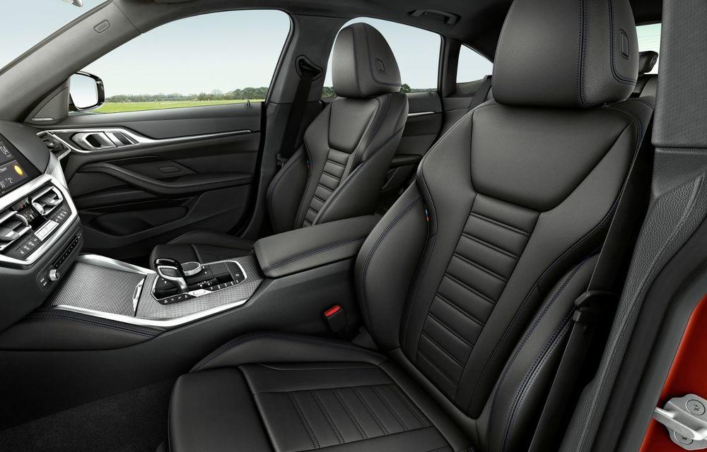 Noul BMW Seria 4 Gran Coupe: ținută de drum îmbunătățită și mai mult spațiu decât înainte - Poza 23