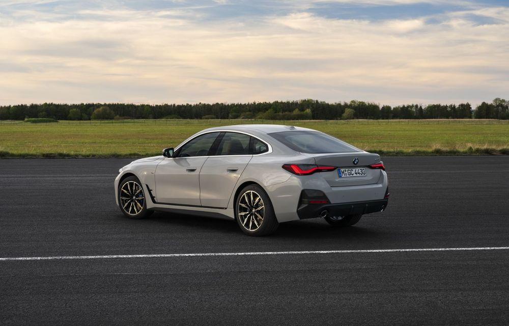 Noul BMW Seria 4 Gran Coupe: ținută de drum îmbunătățită și mai mult spațiu decât înainte - Poza 15