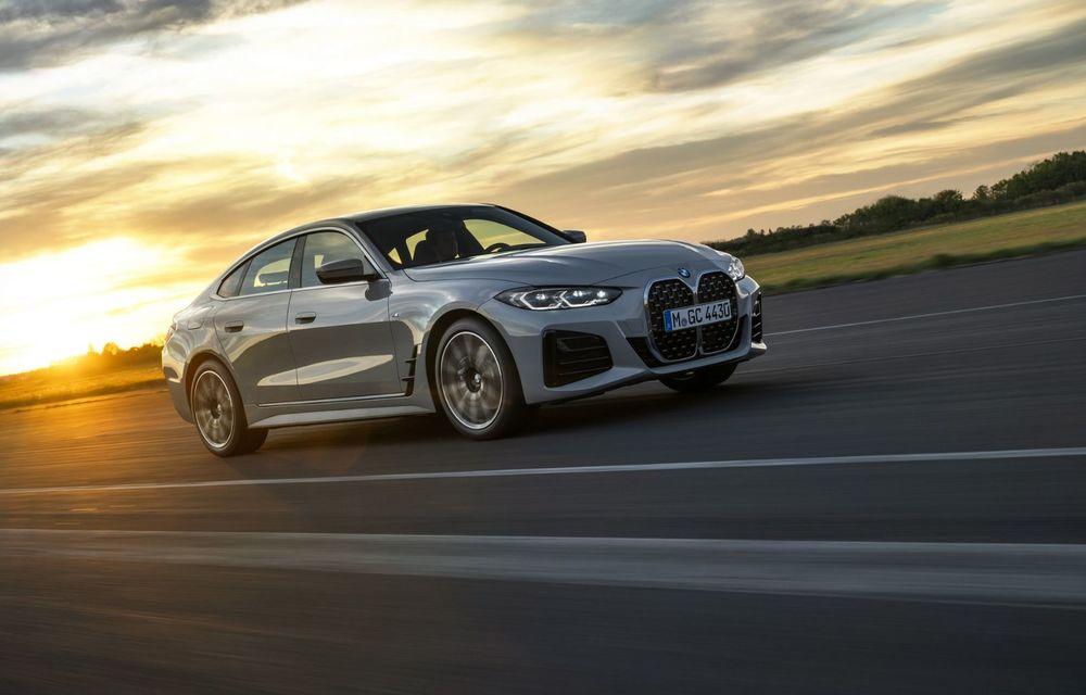 Noul BMW Seria 4 Gran Coupe: ținută de drum îmbunătățită și mai mult spațiu decât înainte - Poza 14
