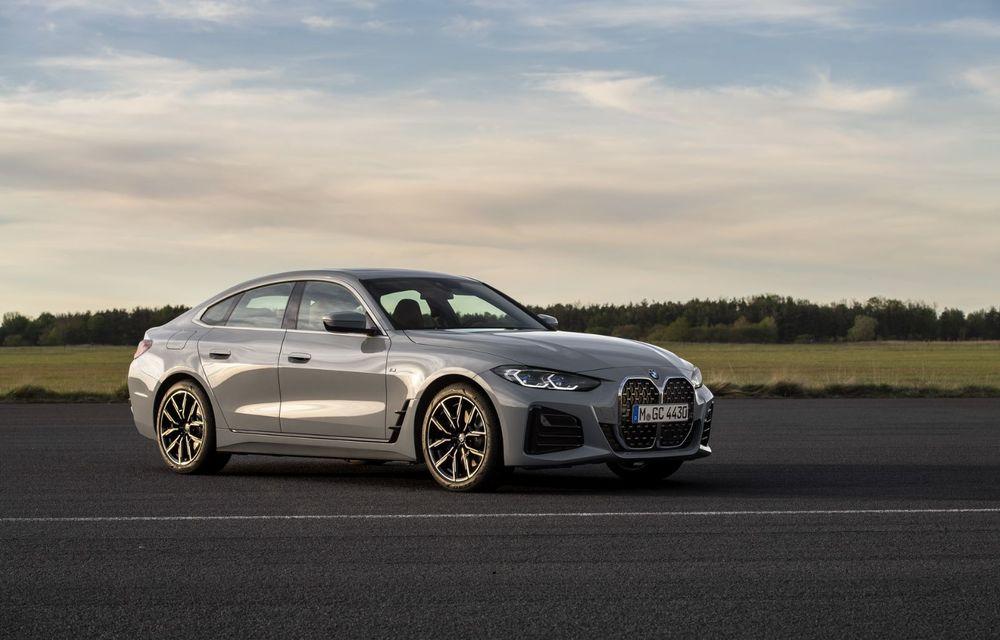 Noul BMW Seria 4 Gran Coupe: ținută de drum îmbunătățită și mai mult spațiu decât înainte - Poza 16