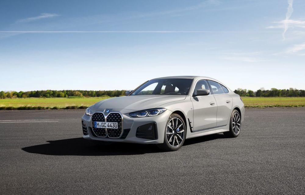 Noul BMW Seria 4 Gran Coupe: ținută de drum îmbunătățită și mai mult spațiu decât înainte - Poza 18