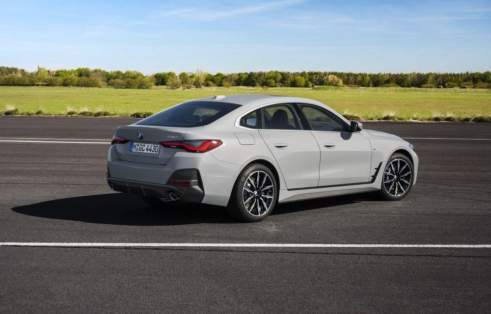 Noul BMW Seria 4 Gran Coupe: ținută de drum îmbunătățită și mai mult spațiu decât înainte - Poza 19