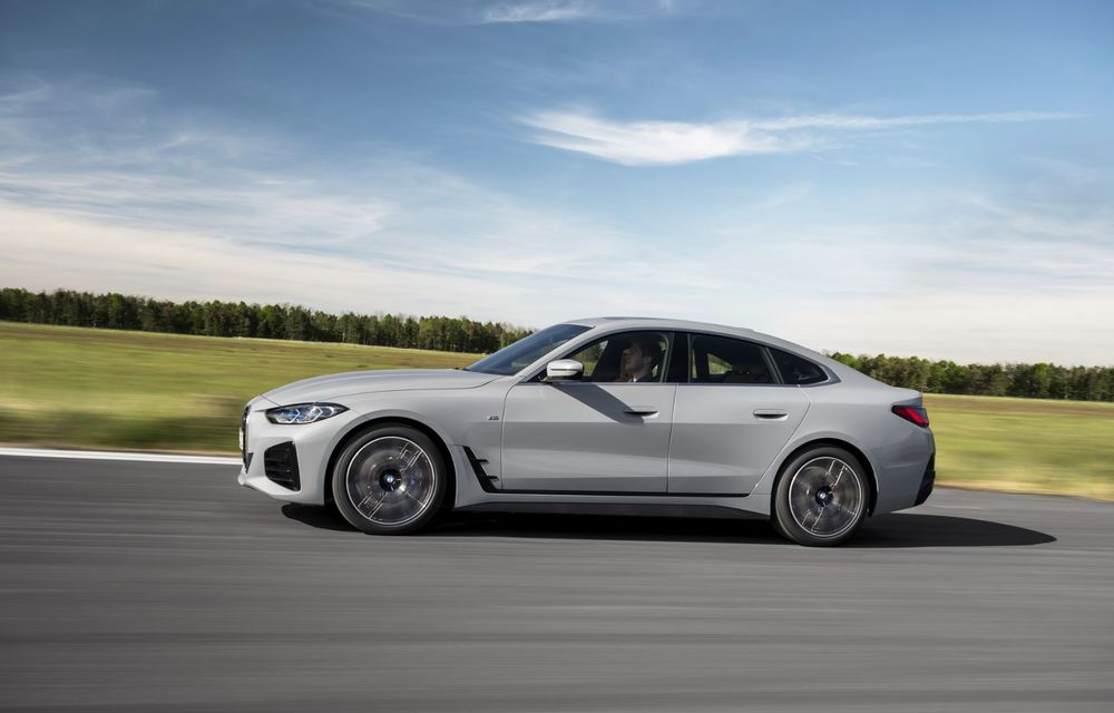 Noul BMW Seria 4 Gran Coupe: ținută de drum îmbunătățită și mai mult spațiu decât înainte - Poza 20