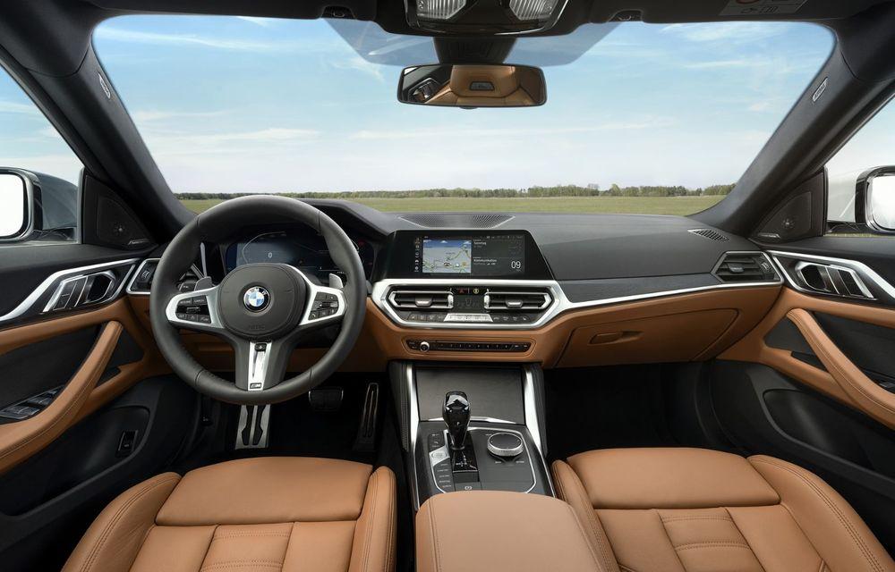 Noul BMW Seria 4 Gran Coupe: ținută de drum îmbunătățită și mai mult spațiu decât înainte - Poza 22
