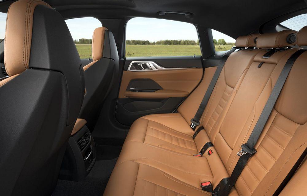 Noul BMW Seria 4 Gran Coupe: ținută de drum îmbunătățită și mai mult spațiu decât înainte - Poza 24