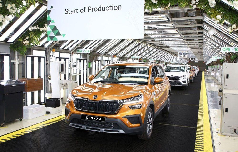 Skoda începe producția SUV-ului Kushaq - Poza 1