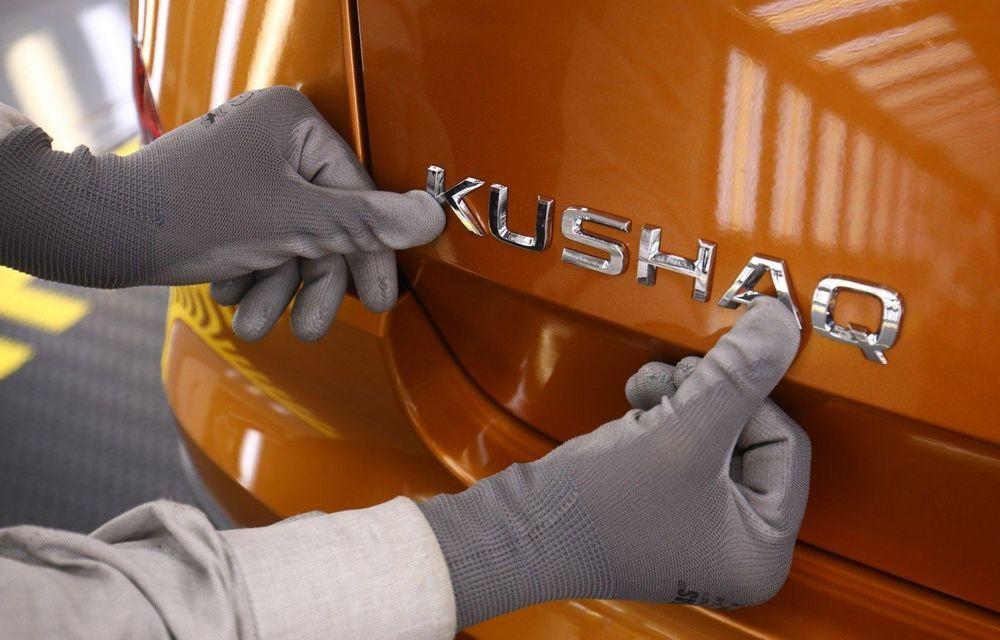 Skoda începe producția SUV-ului Kushaq - Poza 2