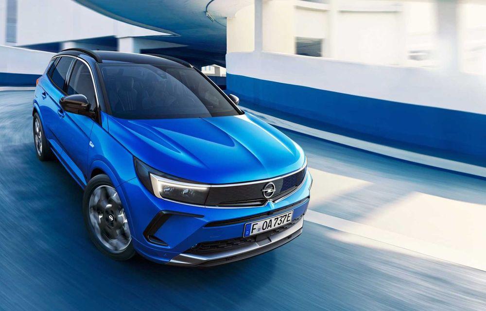 Opel Grandland facelift debutează cu un design îmbunătățit și mai multă tehnologie - Poza 4