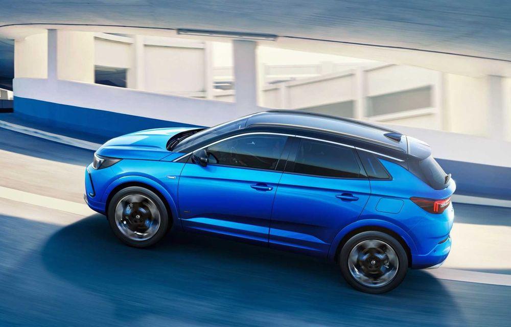 Opel Grandland facelift debutează cu un design îmbunătățit și mai multă tehnologie - Poza 5