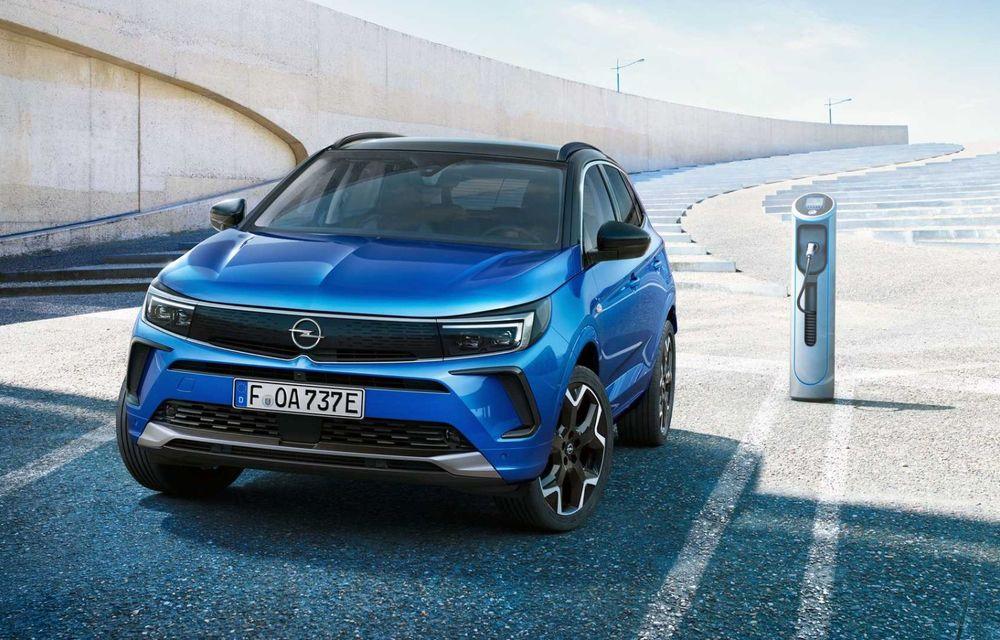 Opel Grandland facelift debutează cu un design îmbunătățit și mai multă tehnologie - Poza 3