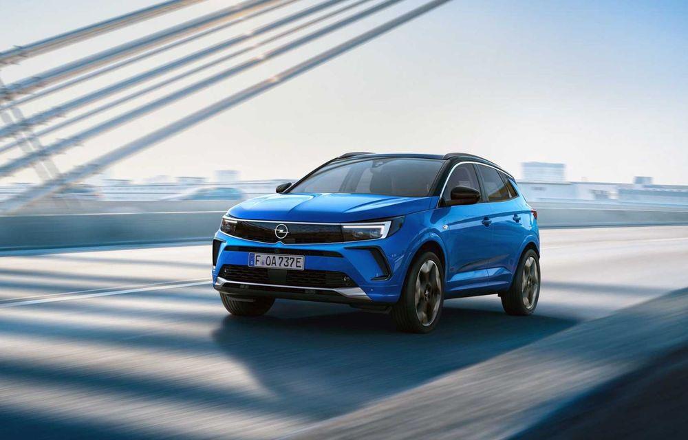 Opel Grandland facelift debutează cu un design îmbunătățit și mai multă tehnologie - Poza 2