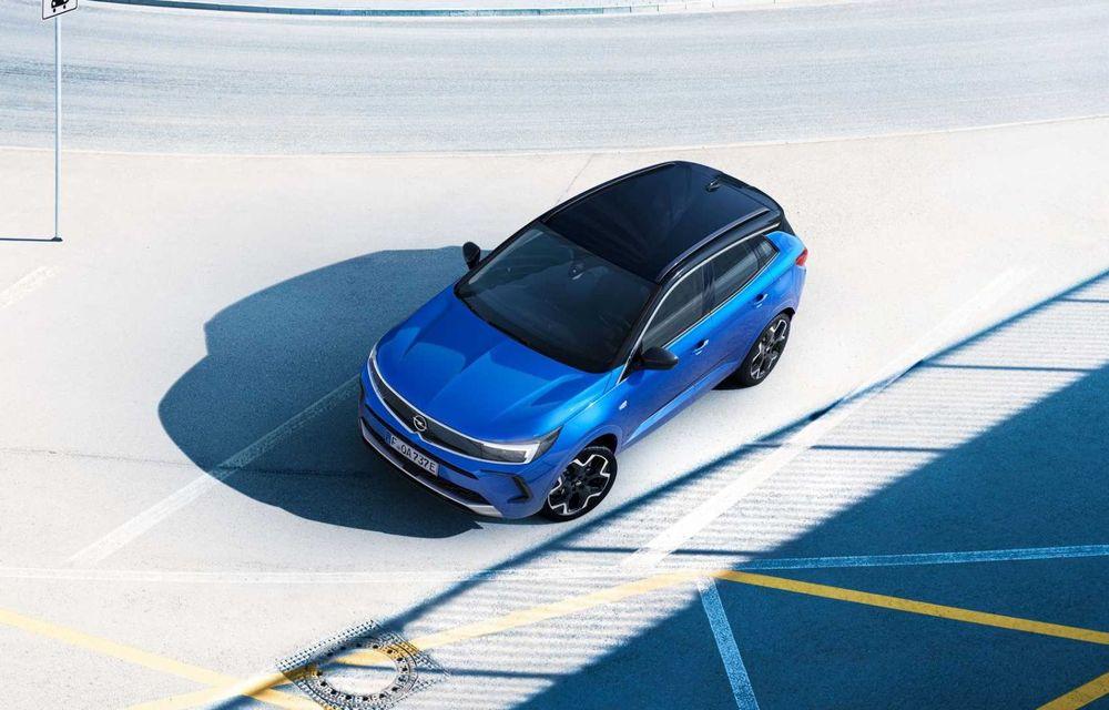 Opel Grandland facelift debutează cu un design îmbunătățit și mai multă tehnologie - Poza 6