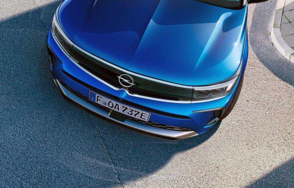 Opel Grandland facelift debutează cu un design îmbunătățit și mai multă tehnologie - Poza 11