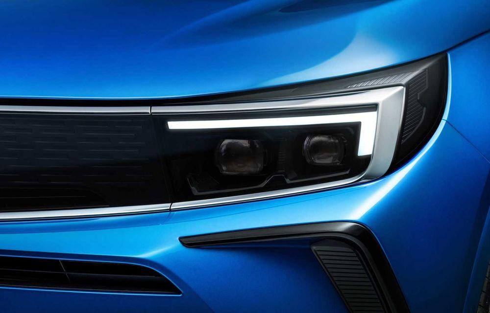 Opel Grandland facelift debutează cu un design îmbunătățit și mai multă tehnologie - Poza 12
