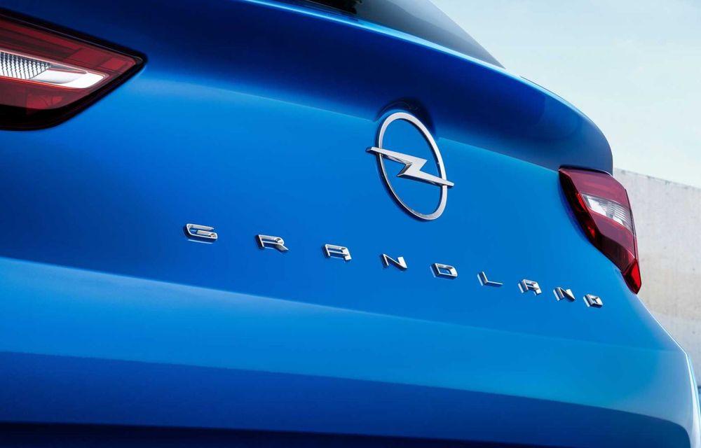 Opel Grandland facelift debutează cu un design îmbunătățit și mai multă tehnologie - Poza 14