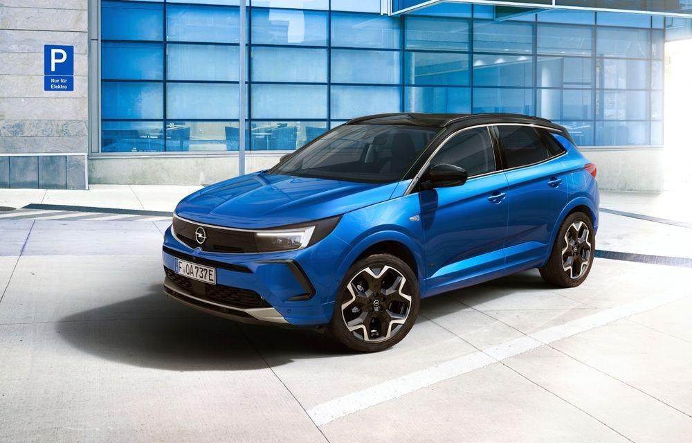 Opel Grandland facelift debutează cu un design îmbunătățit și mai multă tehnologie - Poza 1
