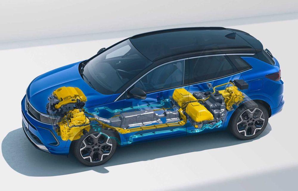 Opel Grandland facelift debutează cu un design îmbunătățit și mai multă tehnologie - Poza 15