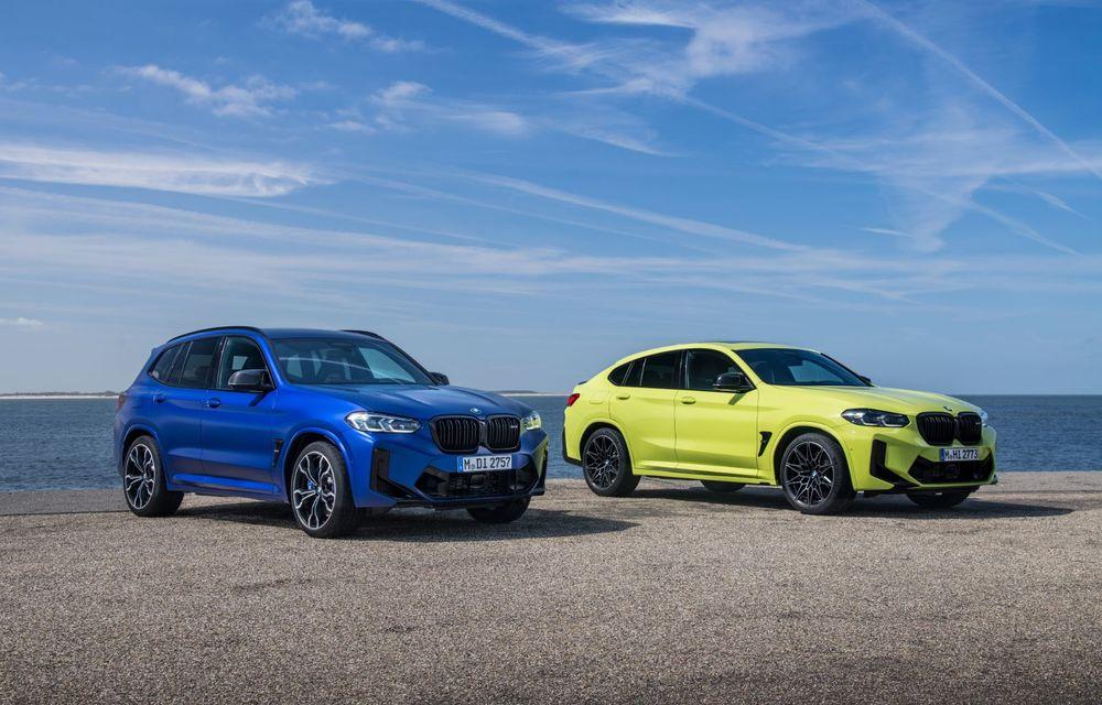 BMW lansează noile X3 și X4 facelift. Versiunile M și M Competition au acum mai mult cuplu - Poza 1