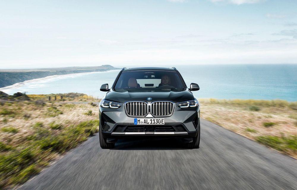 BMW lansează noile X3 și X4 facelift. Versiunile M și M Competition au acum mai mult cuplu - Poza 7