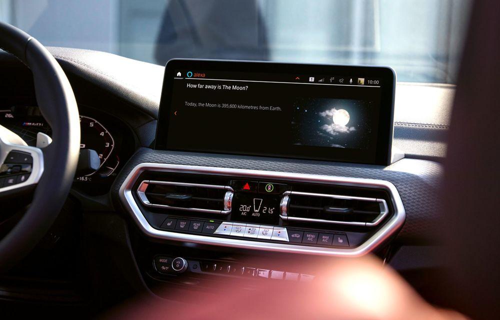 BMW lansează noile X3 și X4 facelift. Versiunile M și M Competition au acum mai mult cuplu - Poza 13