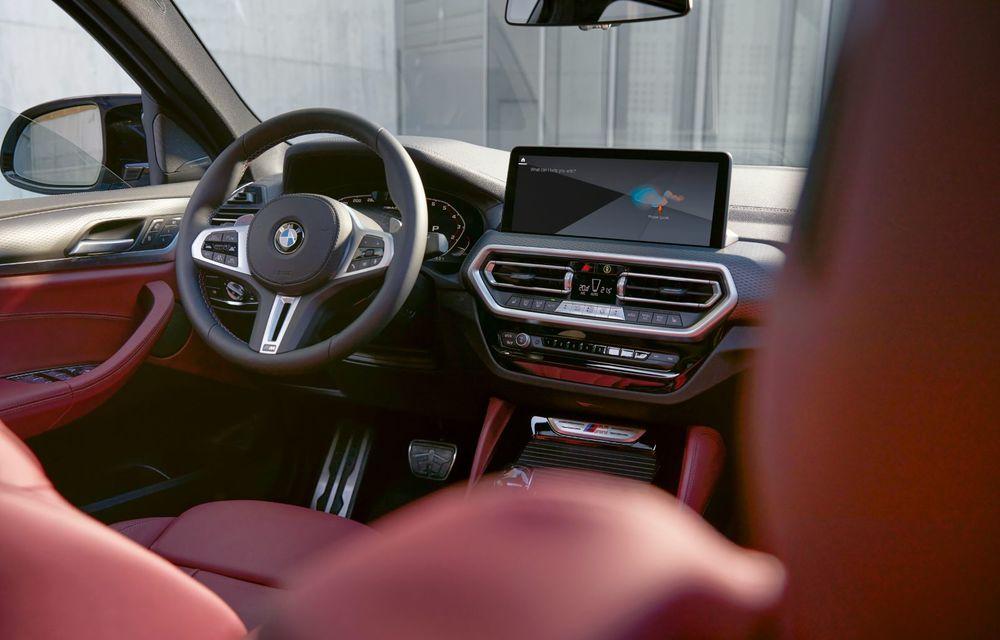 BMW lansează noile X3 și X4 facelift. Versiunile M și M Competition au acum mai mult cuplu - Poza 11