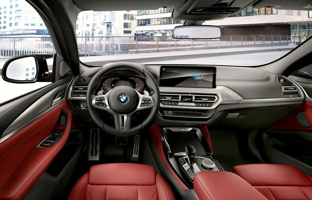 BMW lansează noile X3 și X4 facelift. Versiunile M și M Competition au acum mai mult cuplu - Poza 10