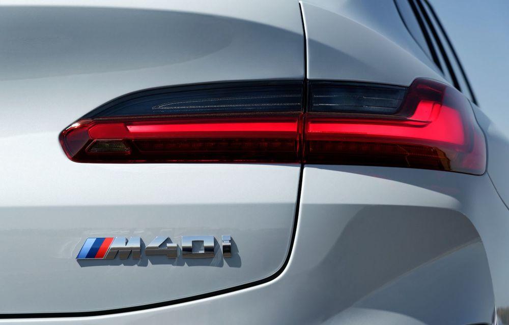 BMW lansează noile X3 și X4 facelift. Versiunile M și M Competition au acum mai mult cuplu - Poza 25