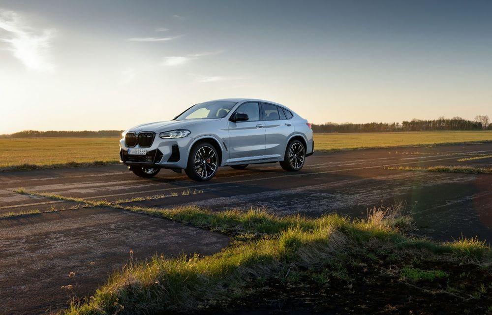 BMW lansează noile X3 și X4 facelift. Versiunile M și M Competition au acum mai mult cuplu - Poza 17