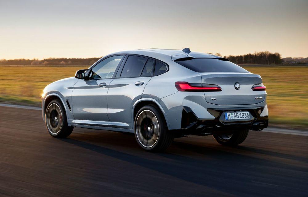 BMW lansează noile X3 și X4 facelift. Versiunile M și M Competition au acum mai mult cuplu - Poza 18