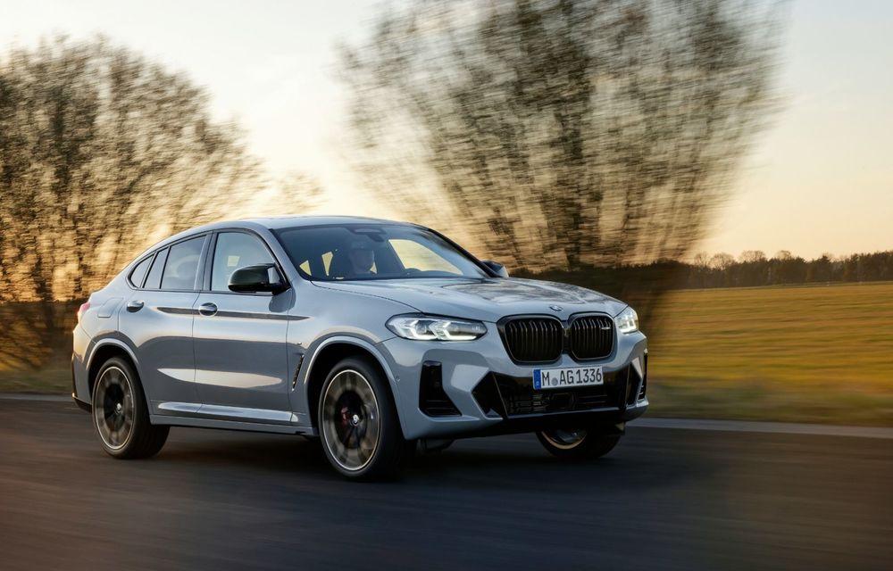 BMW lansează noile X3 și X4 facelift. Versiunile M și M Competition au acum mai mult cuplu - Poza 19