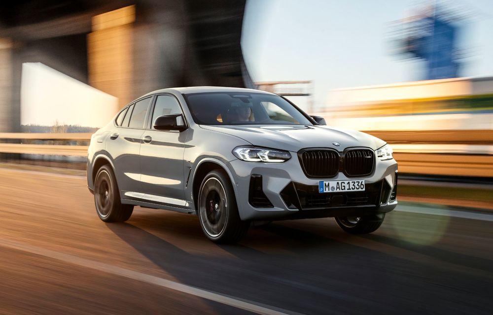 BMW lansează noile X3 și X4 facelift. Versiunile M și M Competition au acum mai mult cuplu - Poza 16
